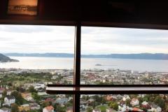 Utsikt fra Tyholttårnet