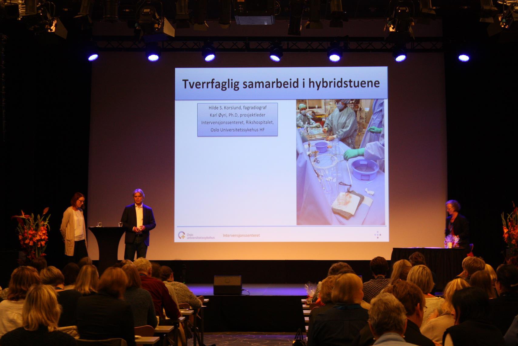 Hilde Sofie Korslund og Karl Øyri